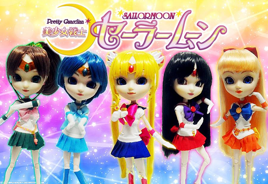 Pullip Dolls Sailor Moon Sailor Moon Doll 2013