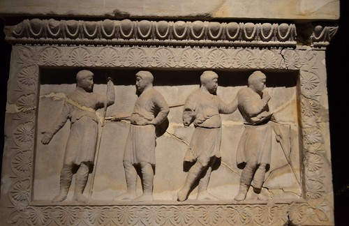Satrap Sarcophagus, Royal Necroplis of Sidon, 2nd half of 5th cent. BCE (6)