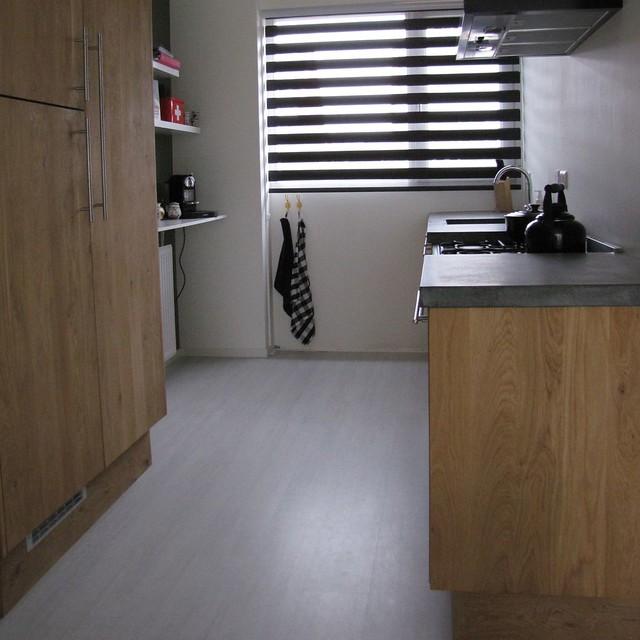 Keuken Kind Ikea : IMG_3849Massief eiken houten keuken met ikea keuken kasten door Koak
