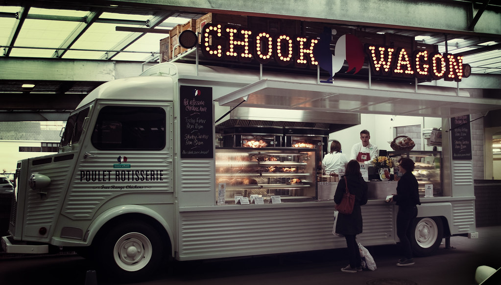 Chook Wagon | Rotisserie chicken truck outside Moore Wilsons… | Flickr