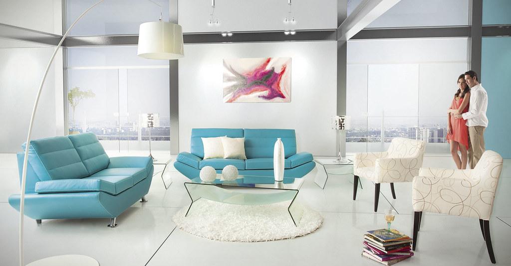 sala burdeos turquesa placencia muebles placencia