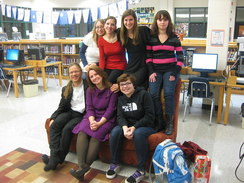 December 2012 Author's Den Creative Writing Club Meeting | by theunquietlibrary