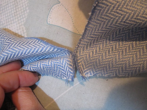 Hand Tack at Rolled Hem for Exact Match | by sewyerown