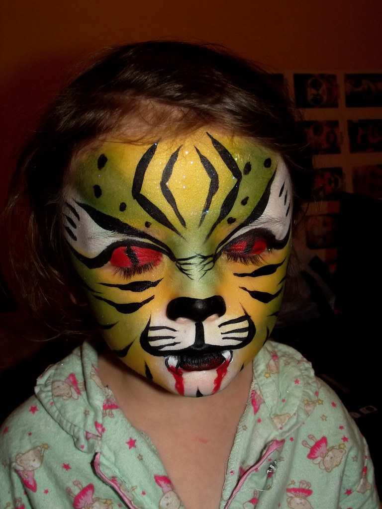 face painting cat - HD768×1024