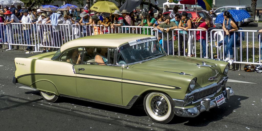 1956 Chevrolet Bel Air 2 Door Hardtop Chevrolet Division O Flickr