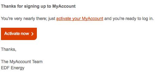 Your MyAccount