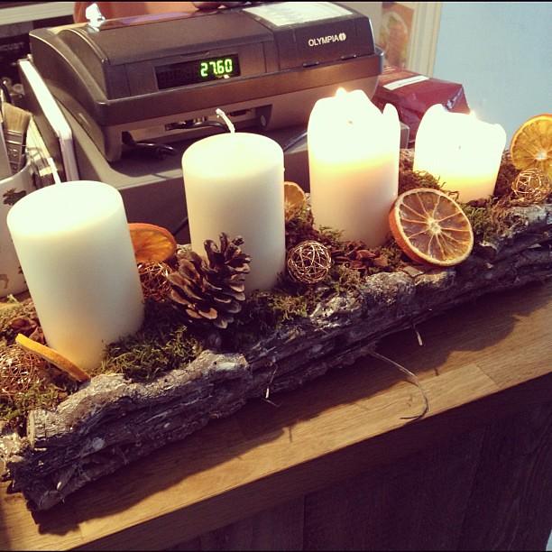adventskranz auf skandinavisch bastian scheefe flickr. Black Bedroom Furniture Sets. Home Design Ideas