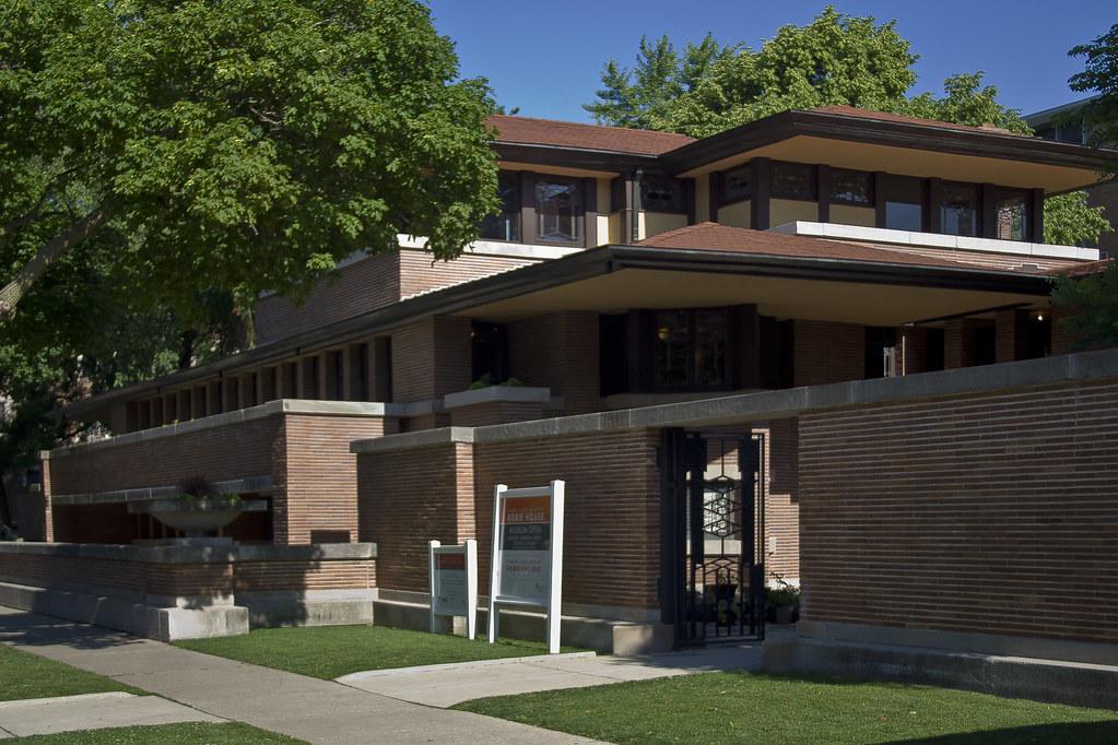 Frank lloyd wright robie house frank lloyd wright for Architettura wright
