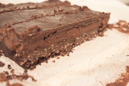 Vegan Gluten-Free Triple Chocolate Nanaimo Bars | Vincci ...
