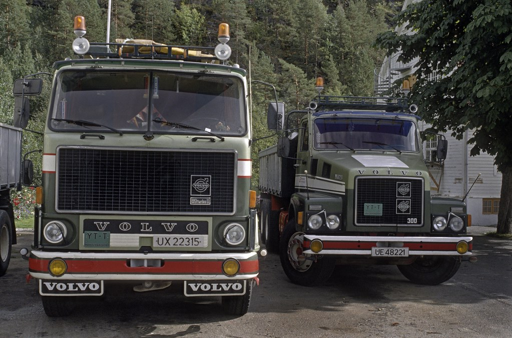 Volvo Trucks F89 and N-series model from the late 1970s ...