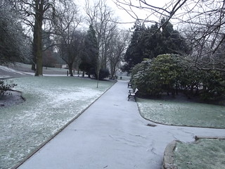 A wintery Cannon Hill Park - path | by ell brown