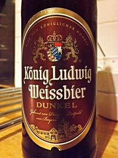 Schloßbrauerei Kaltenberg, König Ludwig Weissbier Dunkel, Germany