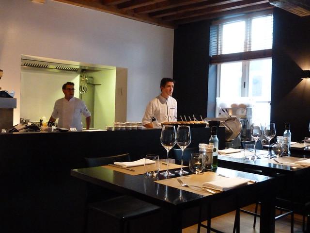 Restaurante Lieven en Brujas (Bélgica)