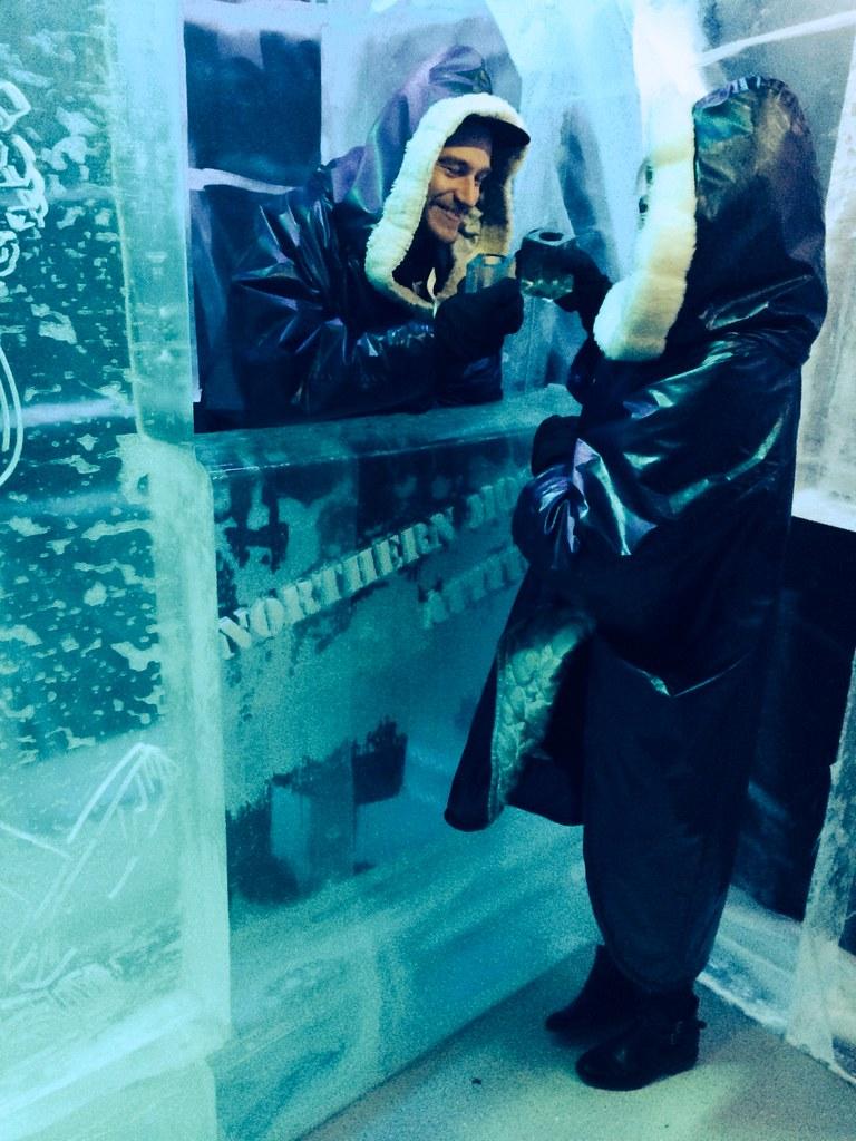 Ice Bar is Cool