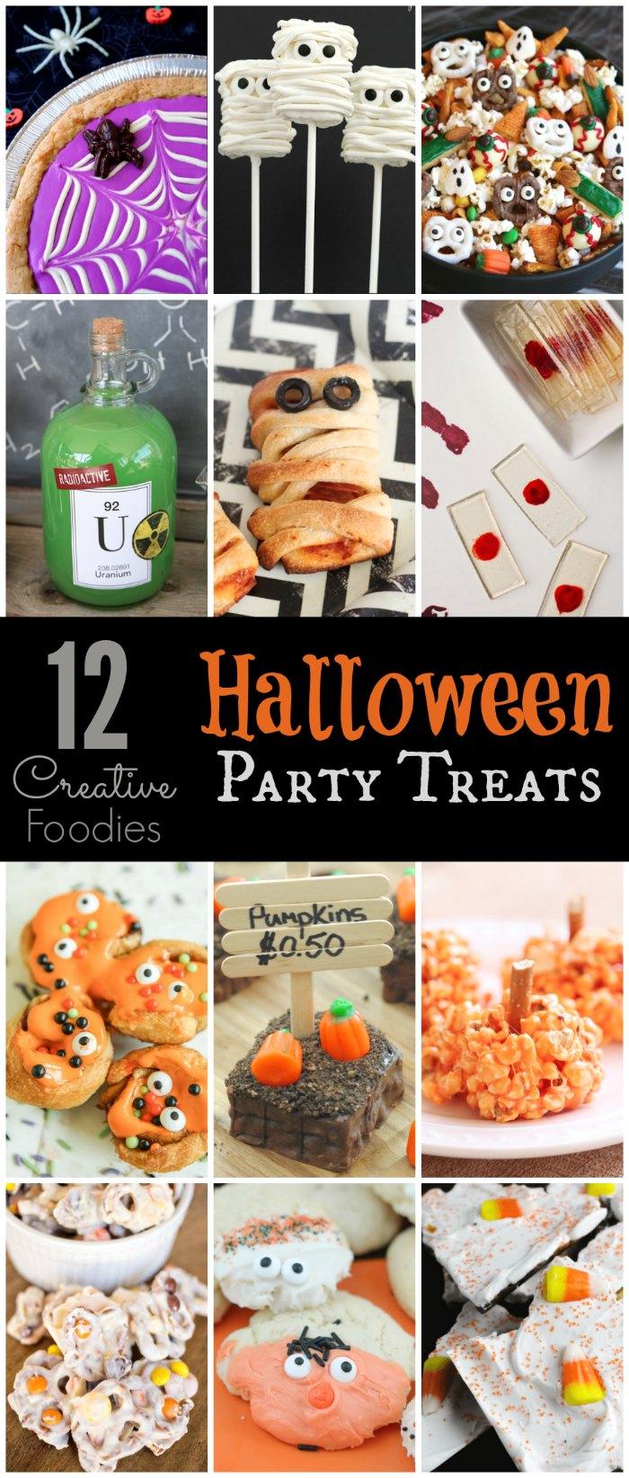12 fun and spooky halloween treats