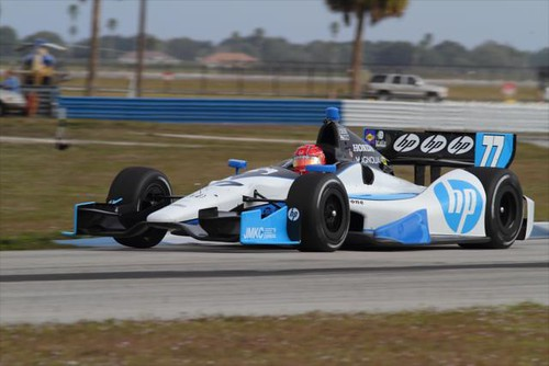 Simon Pagenaud drives the No. 77 Schmidt Hamilton HP Motorsports Honda | by IndyCar Series