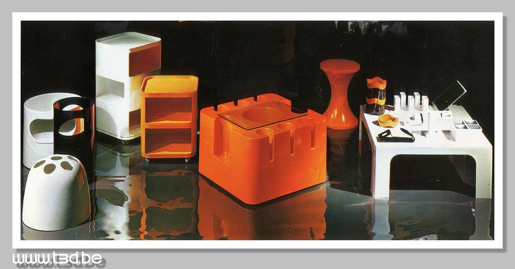 roche bobois 1970 catalog plastic 1970 roche bobois. Black Bedroom Furniture Sets. Home Design Ideas