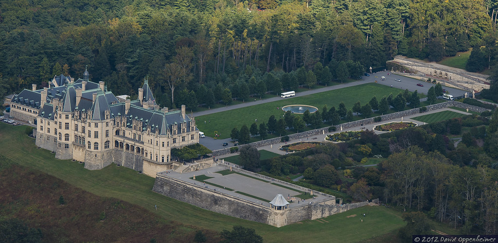 ... Biltmore Estate   Aerial Photo Of Biltmore House | By Performance  Impressions LLC