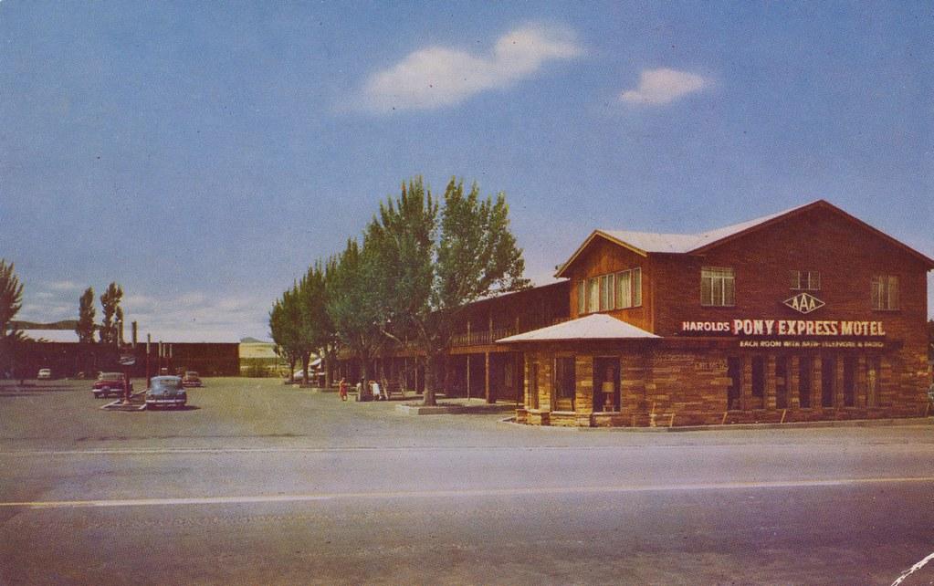 Harold's Pony Express Motel No. 1 - Reno, Nevada