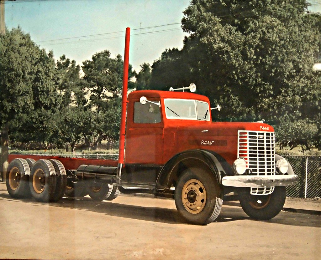 1939 peterbilt 260gd 5 ton tractor photo photohraphed at t flickr - Pictures of old peterbilt trucks ...
