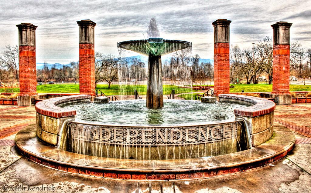 City Center In Independence Oregon Population 9 500