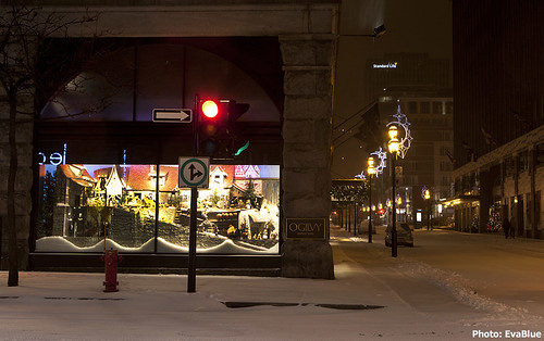 ogilvy christmas window | by Eva Blue