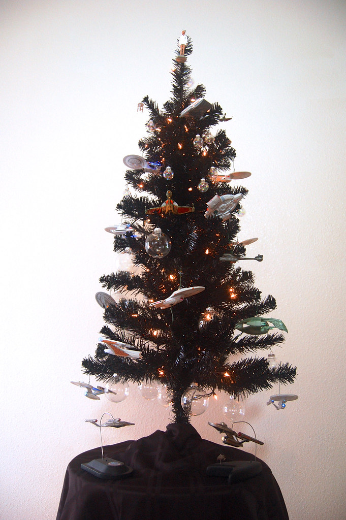 Star Trek Christmas Tree 2012 | For Christmas 2012 I decided… | Flickr