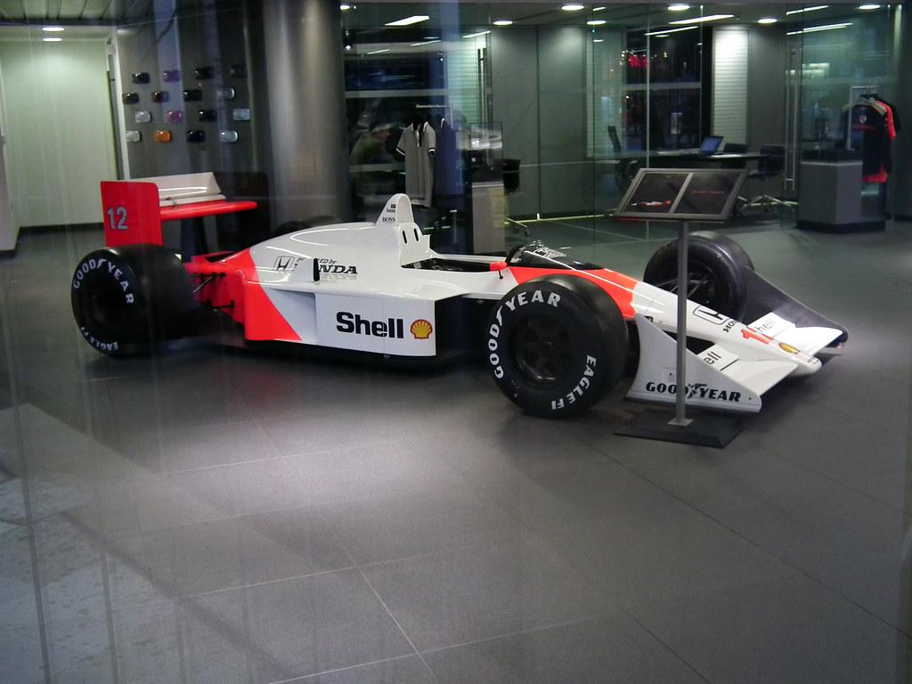 McLaren MP4/4 Honda | Spotted in McLaren London Showroom 198… | Flickr