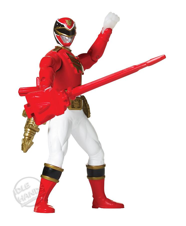 bandai power rangers megaforce battle morphin red ranger