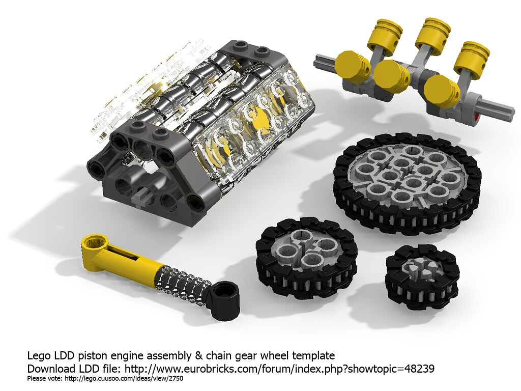 lego digital designer templates - lego ldd technic parts template nachapon s flickr