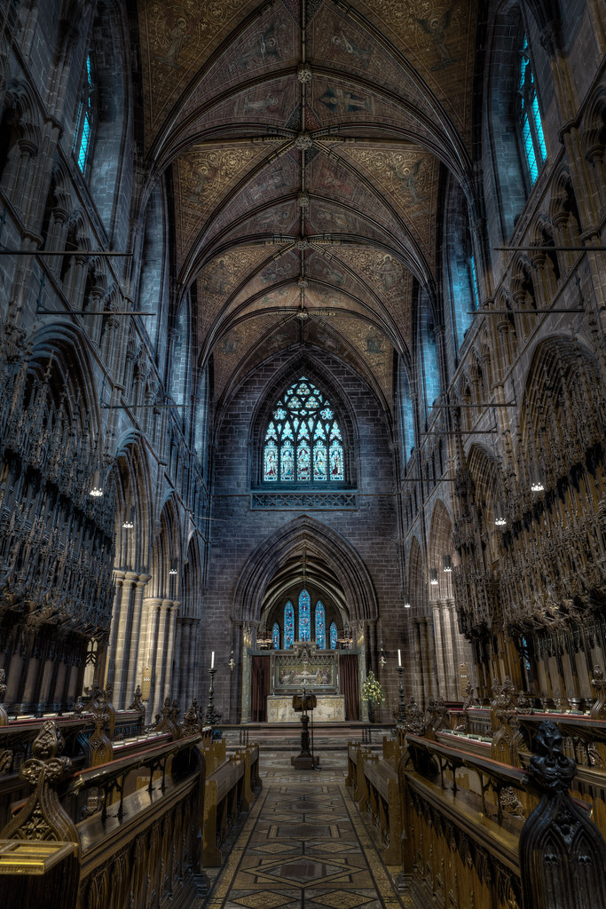 Chester Cathedral The Choir Been While Since Flickr
