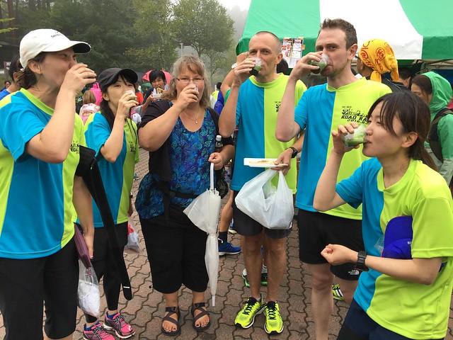 Fujiyoshida half marathon