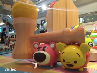 CIRCLEG 九龍塘 又一城 DISNEY TSUM TSUM 壽司 「Disney Tsum Tsum Walk N Roll Festival (10)