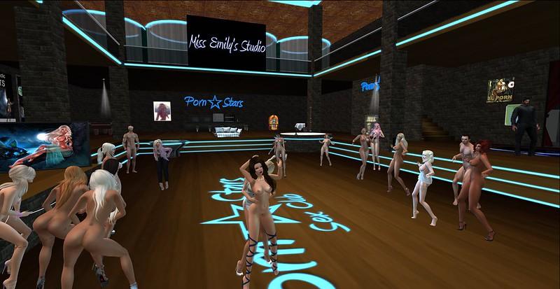 Porn Party at Vision