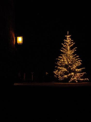 weihnachtsbaum auf der burgfreiung kaiserburg n rnberg. Black Bedroom Furniture Sets. Home Design Ideas