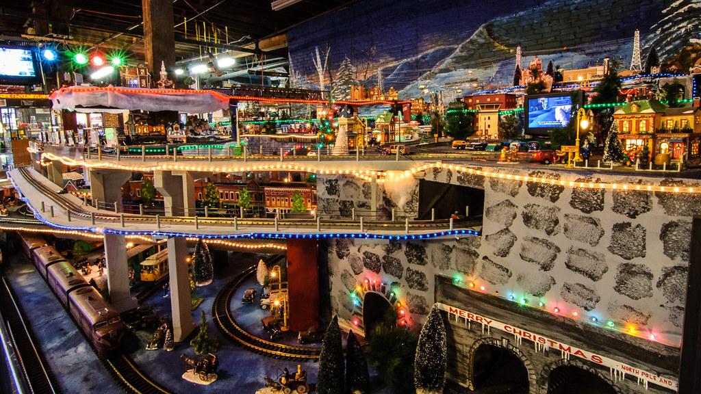White Christmas Train Set