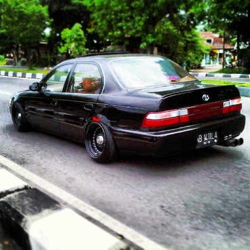 On The Road Toyota Ae101 Stancelover Stance Hellaflus