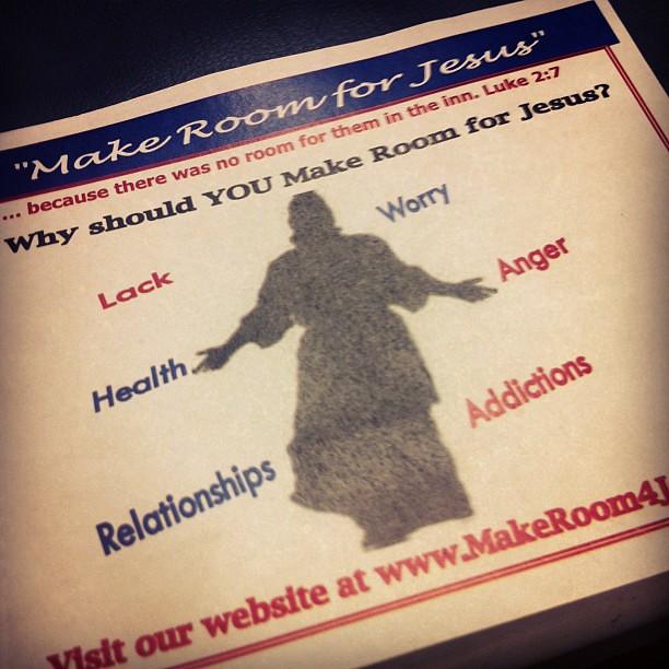 Make Room For Jesus Make Room For Jesus Flickr