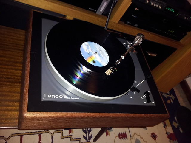 Lenco B52 plinth revamp - first play | Flickr - Photo Sharing!