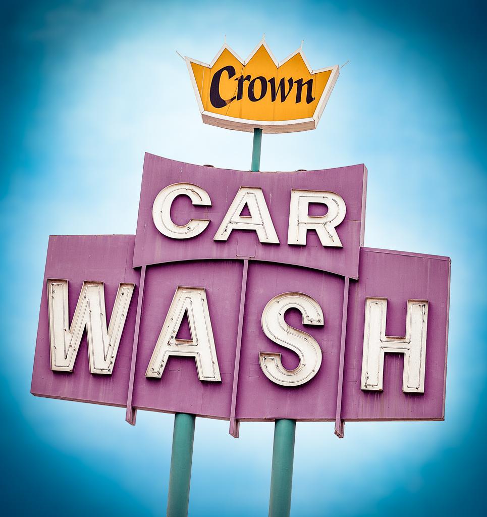 Crown car wash 10399 west pico blvd los angeles ca marc shur flickr - Coloriage car wash ...