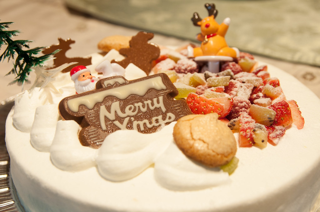 japanese christmas cake along with the best suri flickr 5229