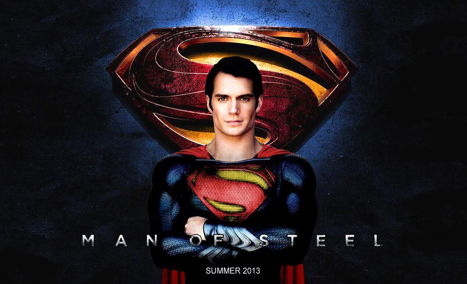 Henry Cavill as Superman - Man of Steel - HQ Wallpaper ...