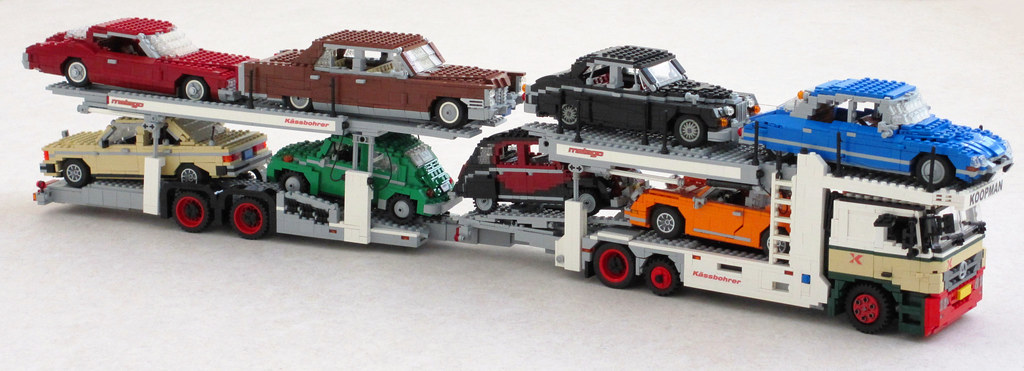 Mercedes Actros Car Transporter 3 My Truck Carries The