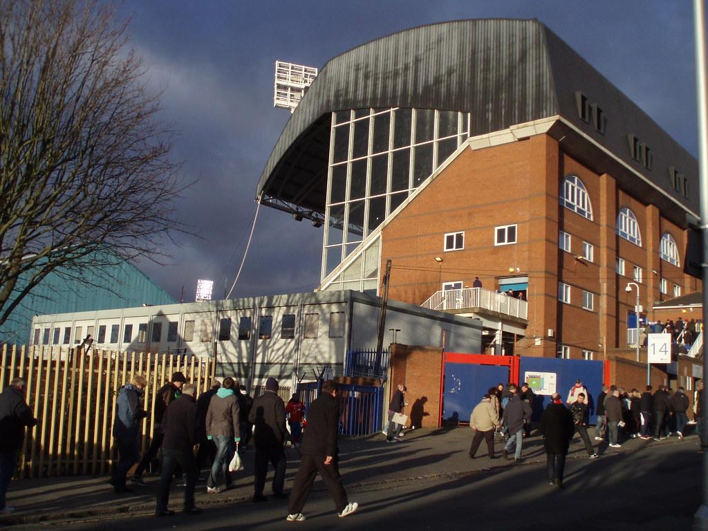 Selhurst Park football stadium, London SE25 | © photo by