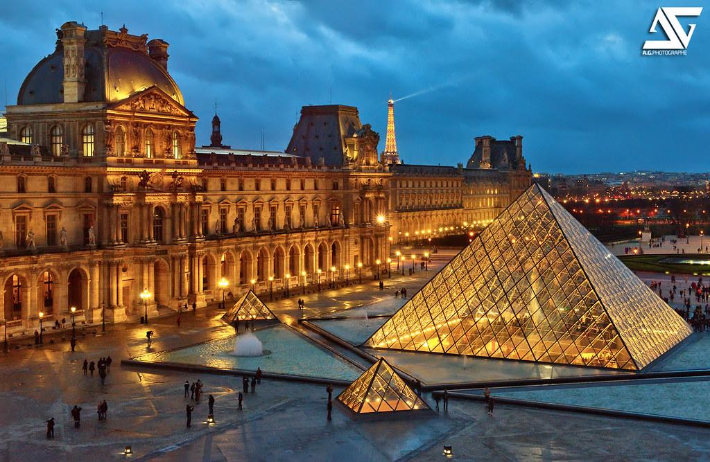 Louvre Evening Tour
