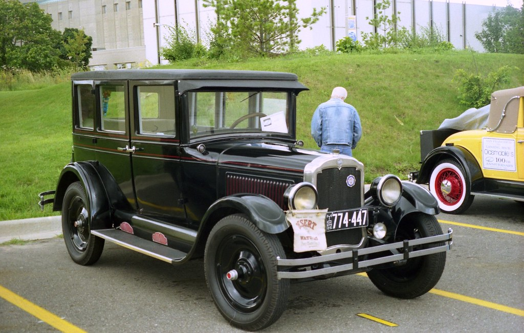 1926 Oldsmobile 30 D Four Door Sedan Taken At The