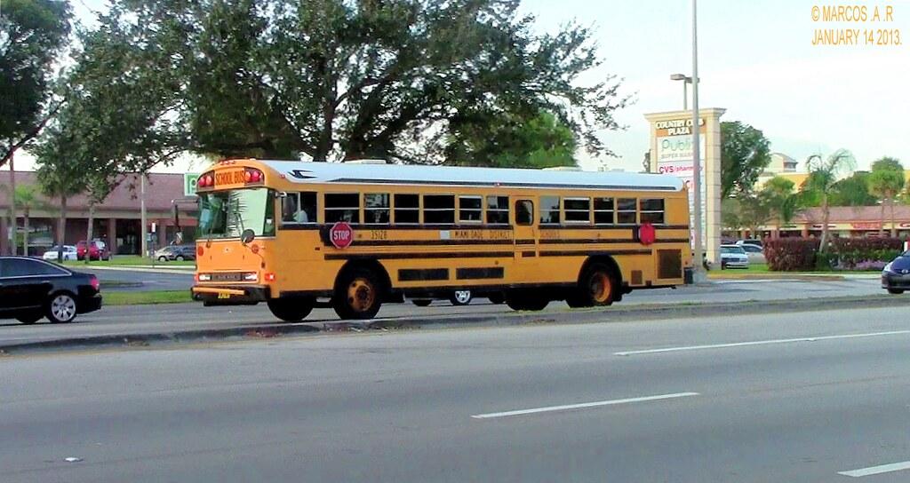 Miami Dade School Bus  35128