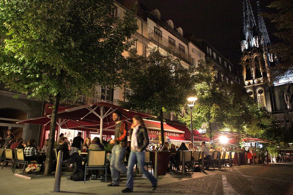 Place de la victoire de nuit clermont ferrand auvergne flickr - Office de tourisme de clermont ferrand ...