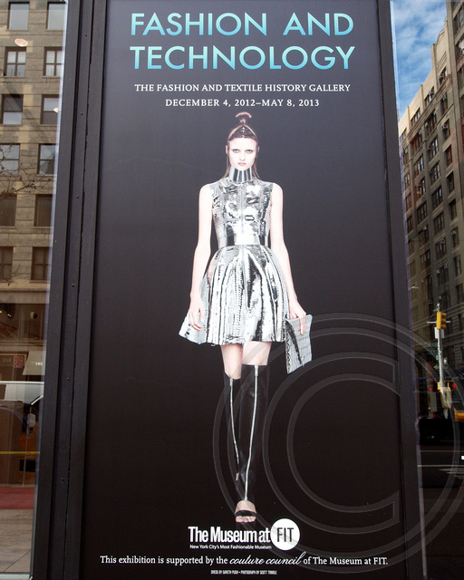 Fashion and technology exhibition the museum at fashion i for Museum of fashion nyc