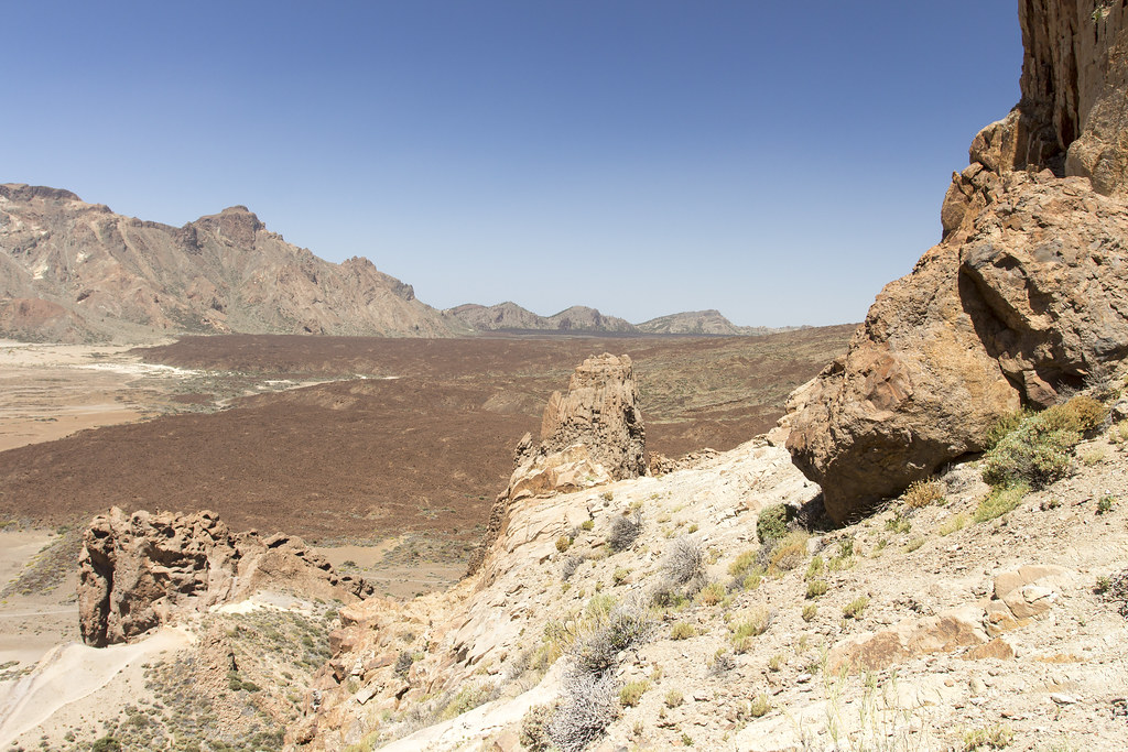Panoramic view of the Teide National Park - Tenerife